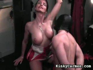 Mezclar de dominación femenina vídeos por fetichista carmen