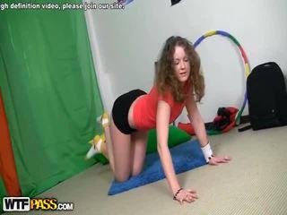 Work out porno pron