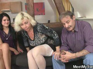 Granny Cuckold Family