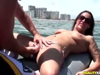 Honey Krystal Main Has Bikini Ripped Off And Pussy Finger Drilled And Licked