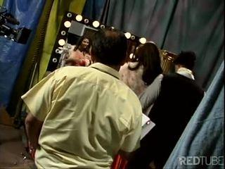 Tera Patrick backstage