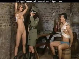 Dominant russians abuso prisoners rusa cumshots tragada