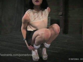 quality brunette, torture, nice gag hq