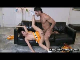 Honey Mindy Lynn Widens Her Tight Pussy Wide Enough For A Nice Screw