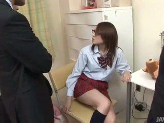 日本语 青少年 rino mizusawa 角质 打击 敲打