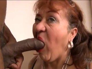 Picked hore starý španielske stará mama pre screwing pleasures