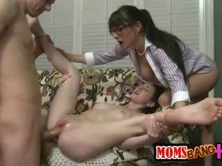 nuovo sesso di gruppo, grande cazzo nuovo, fresco terzetto più