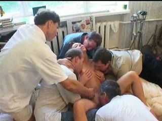 Orgy with a Russian TEEN Video