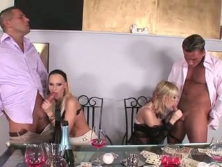 Gitta blond hottie like to blow the whistle with ally