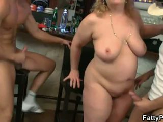 big, tits, group fuck
