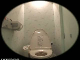 Girl Dorm Toilet Onanism