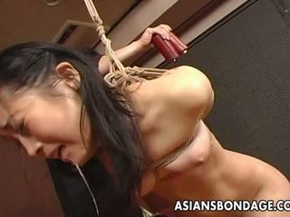 mooi japanse, echt bdsm, slavernij neuken