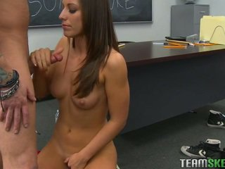 nominale brunette, vers coed porno, college meisje neuken