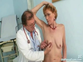 Classy Mature Lady Mila Requires Gyno Clinic Investigation