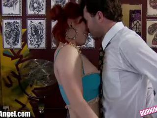 BurningAngel Misti Dawn and James Deen Anal Fuck