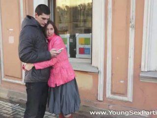 Jovem sexo parties: russa amateurs sexo a quatro caralho