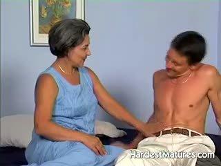 vers oma porno, pijpbeurt, plezier volwassen
