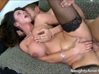 brunette, fucking, sex, sofa