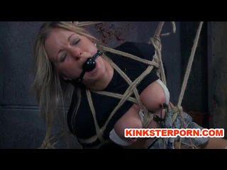Lesbian Slave Dia Zerva Whipped in Bondage