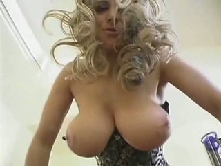 Hot blonde Milf with big natural boobs