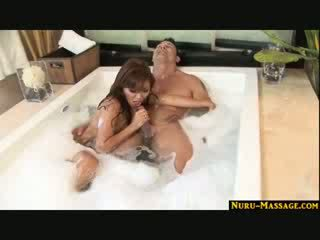 Asian masaage turns into a full service