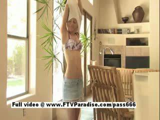 Marianna Tender Gorgeous Blonde Posing