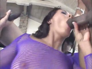 Hard Black Cock In All Her Tunnels