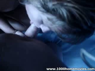 Blond babe chick blow extractingjob she loves to suck extracting her boy friend by moon