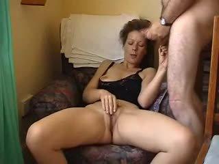 heet brunette seks, orgasme klem, vers masturbatie gepost