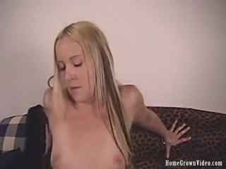 Leggy Blonde Lainey Licked And Creamed