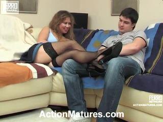 Hot Action Matures Movie Starring Shenythia, Christina, Adam
