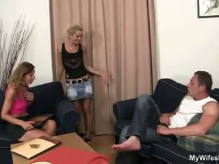 Daughter Watches Husband Fucking Not Her Old Mom: Porn 53