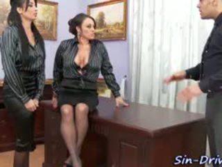 Glam birojs babes cumswap