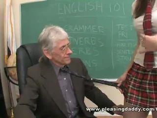 redhead, heels, schoolgirl