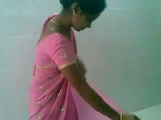 Telugu गुलाबी saree