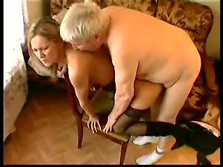 Sara nice playing the french maid