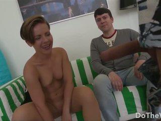 Husband Watches Wife Take a Huge Dick, Porn 91