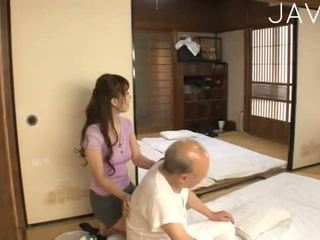 giapponese, bimbo, sborrata