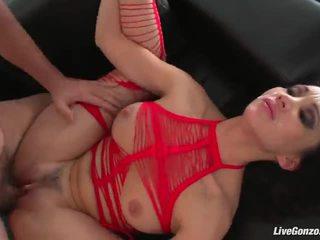 tits, brunete, penis