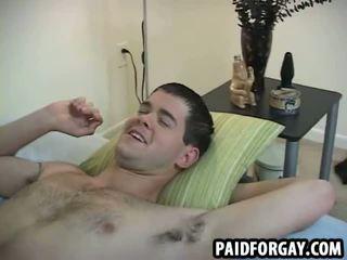Straight dude fucked for money