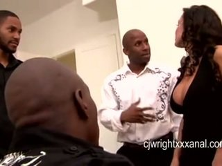 Lisa ann - dame milf gangbanged von blacks guy