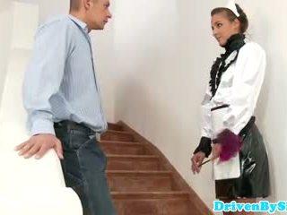 Eurobabe amirah adara facialized 如 一 女佣