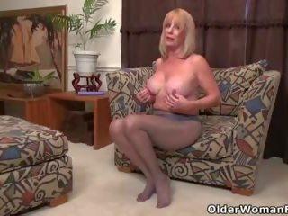 ideaal grannies scène, meer matures actie, vol milfs