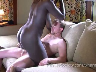 âm hộ cạo, cock sucking, interracial