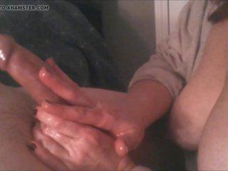 cumshots neuken, roodharigen, kwaliteit handjobs