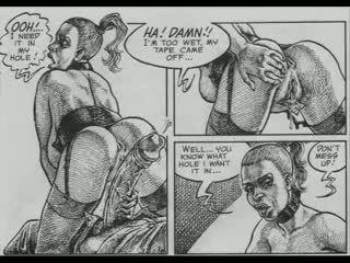 cartoons porno, heet comics actie