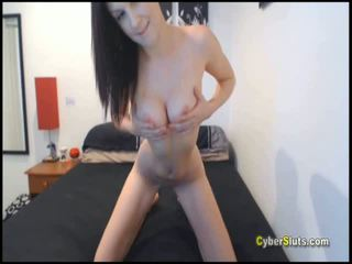 Skinny Ass Teen Undressing on Cam for her Friend