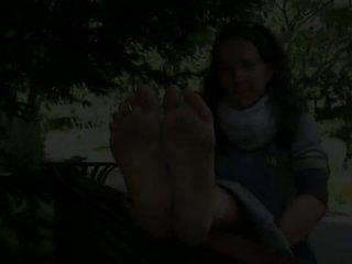 frans, meest babes scène, alle voet fetish klem