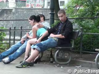 fan, ung, oralsex, sugande