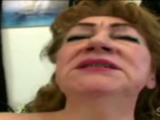 70yo Ginger Pleases Her Hairy Snatch With A Sneaky Dildo
